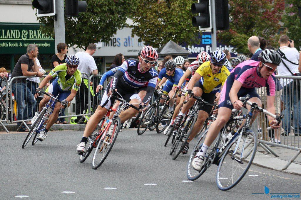 Scottish Cycling Championships Paisley 2012