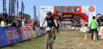 Michalina Ziółkowska trzecia  w Maratonie MTB Volcat!